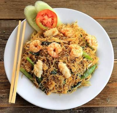 3. Bihun Goreng Seafood
