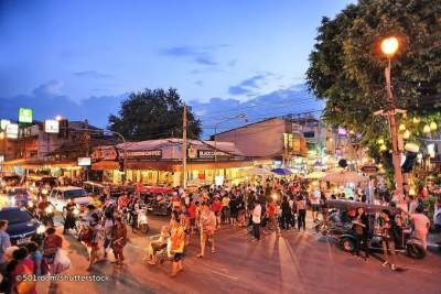 3. The Pae Walking Street