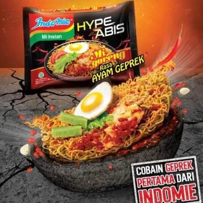 2. Indomie Ayam Geprek Hype Abis