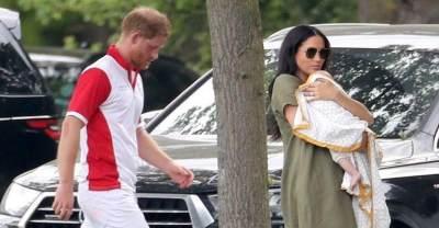 Perdana Tampil dengan Baby Archie, Meghan Markle Dituding Tak Becus Menggendong Anak
