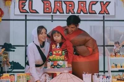Momen Ulang Tahun El Barack Ke-5, Jessica Iskandar Siapkan Pesta Bertema NinjaGo