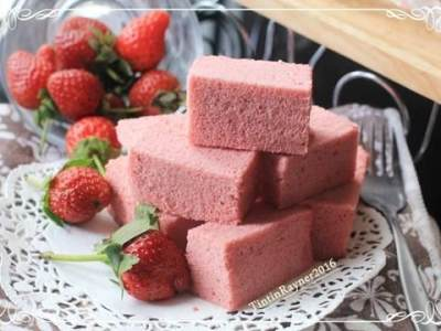 Ogura Cake Strawberry Yoghurt