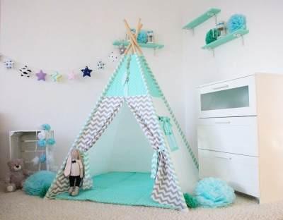 Cara membuat Teepee Tent, Tenda Tempat Main Anak yang Unik di Sudut Rumah