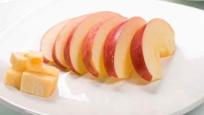 Apel dan Keju