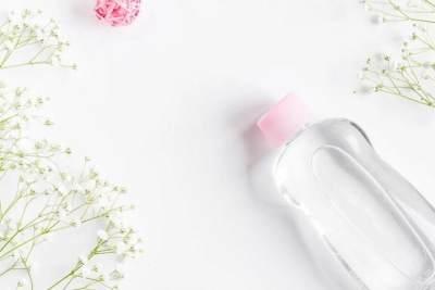 2. Listerine dan Baby Oil