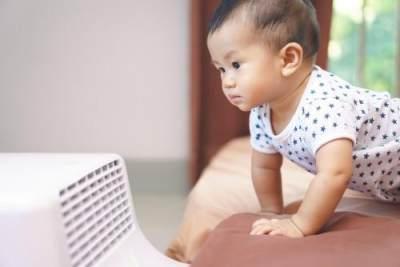 Waspada Ketergantungan AC Pada Bayi, Ini Bahaya yang Harus Diketahui