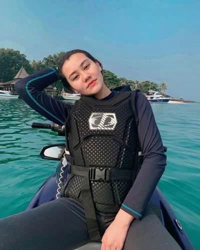 Siap Kibarkan Merah Putih di Bawah Air, Aaliyah Massaid Ingin Buat Sang Ayah Bangga