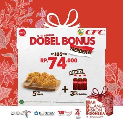 CFC - Dobel Bonus Merdeka