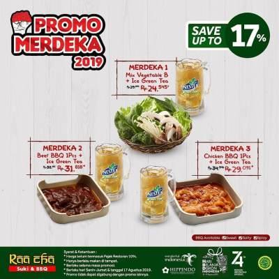 Raa Cha Suki & BBQ - Promo Merdeka