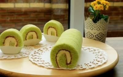 Role Cake Green Tea