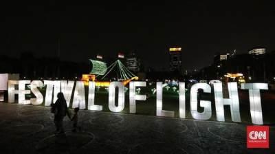 Ajak Si Kecil Liburan ke Festival of Light di Monas, Ada Pertunjukan Lasernya Juga Lho!
