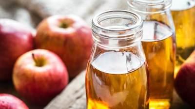 Cuka Apel dan Garam