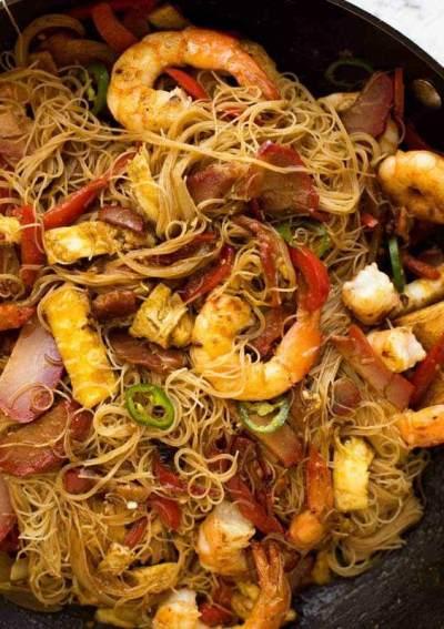 Resep Bihun Goreng Seafood Gurih dan Tidak Pedas yang Pas Untuk Anak