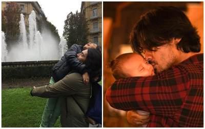 Abimana VS Chicco Jerikho, Mana yang Lebih 'Hot' Saat Mengasuh Anak?