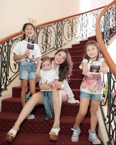 Ungkapan Haru Celine Evangelista Melihat Anaknya Peduli pada Anak Tak Mampu