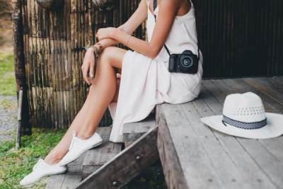 5. White dress