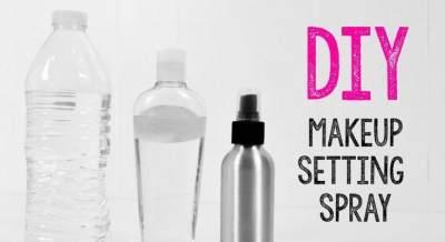 Mudah dan Murah, Bikin Sendiri Setting Spray Dari Bahan Alami, Yuk Moms!