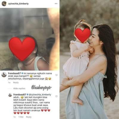 Franda Marah Nama Anaknya Ditiru Fans, Begini Reaksi Raditya Dika Sampai Rachel Vennya