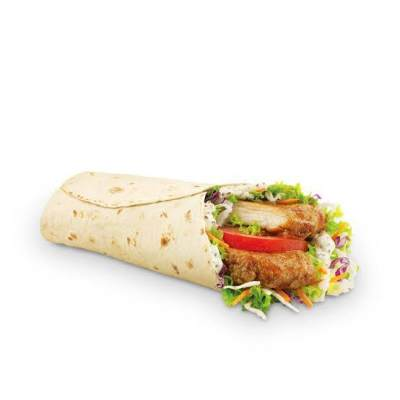 3. Grilled Chicken Snack Wrap - McD