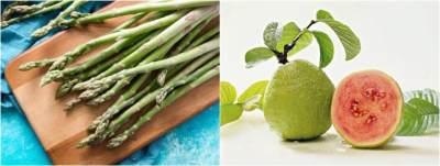 Asparagus dan Jambu Biji