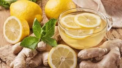 Jamu Jahe dan Lemon