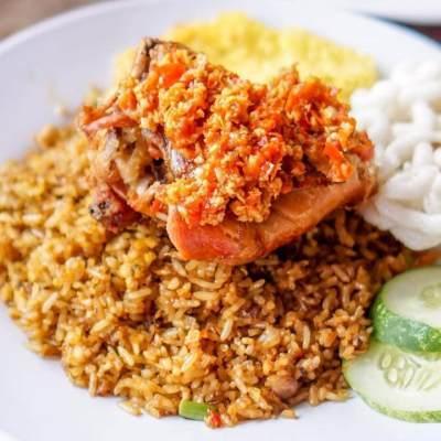 Nasi Goreng Ayam Rempah