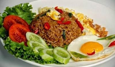 Nasi Goreng Ayam Saus Tiram