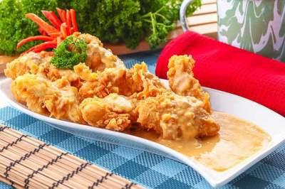 Fillet Ikan Dori Saus Telur Asin