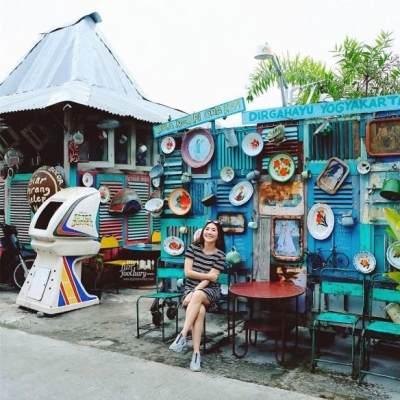 Cafe 80's Bocor Alus Jogja