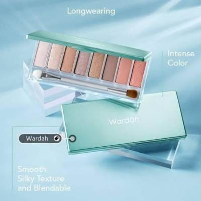 4 Rekomendasi Eyeshadow Palette Lokal dengan Nuansa Warm Tone yang Cantik Abis!