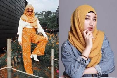 7 Gaya Fashion Hijab ala Tengku Syaira, Pemeran Annisa 'TOP' yang Kece Abis!