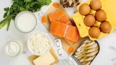 2. Makanan Kaya Akan Vitamin D