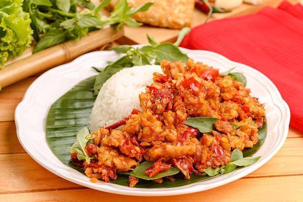 Resep Sambal Tempe Yang Pedasnya Nampol Pas Untuk Pelengkap Makan Siang Nih