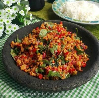 Resep Sambal Tempe yang Pedasnya Nampol, Pas Untuk Pelengkap Makan Siang Nih!