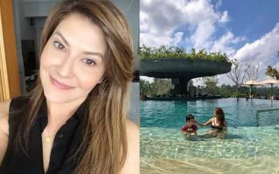 Penampilan Seksi Tamara Bleszynski yang Tuai Kontroversi, Masih Awet Muda!