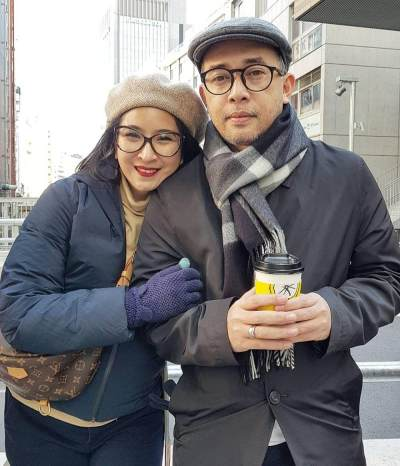 Novita Angie dan Sapto Haryo