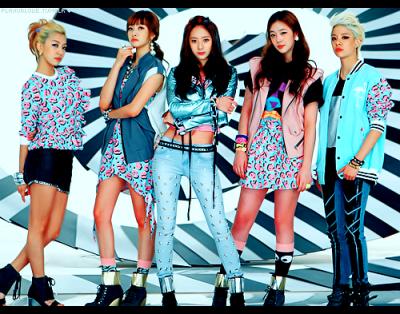 Debut dengan Girls Group f(x)
