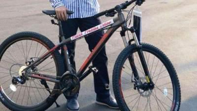 Pernah Mendapat Sepeda dari Jokowi