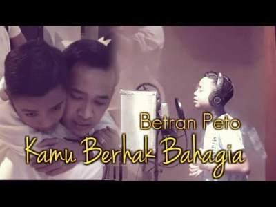 Menyentuh, Ini Cerita & Lirik Di Balik Lagu 'Kamu Berhak Bahagia' Betrand - Sarwendah