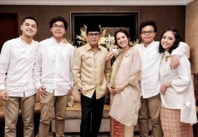 6 Potret Kece Gista Putri, Istri Wishnutama Calon Menteri Kabinet Kerja Jilid II