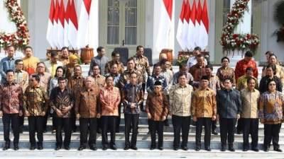 Daftar Lengkap Menteri Kabinet Indonesia Maju, Ini Pesan Jokowi Untuk Nadiem Makarim