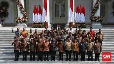 Susunan Lengkap Kabinet Indonesia Maju Jokowi