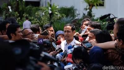 Pesan Jokowi Pada Nadiem Makarim