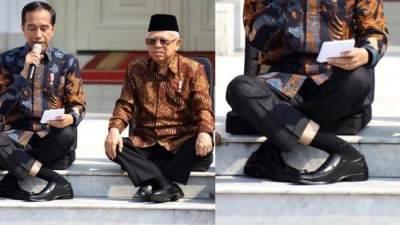 Viral Duduk Silang Ala Jokowi Sampai Jadi Challenge, Bahaya Nggak Sih, Moms?