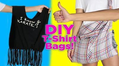 Baju Bekas Jangan Dibuang, Moms. Yuk, Bikin Tas Belanja Kece Ini!