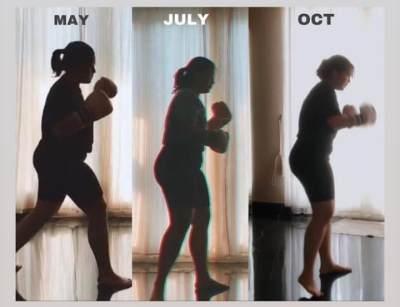 Berat Badan Turun 13 kg dalam 5 bulan, Ini Transformasi Influencer Cantik Sarah Ayu