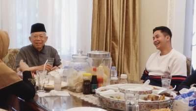 Nasihat Wapres Ma'aruf Amin Untuk Adly Fairuz yang Ternyata Adalah Cucunya