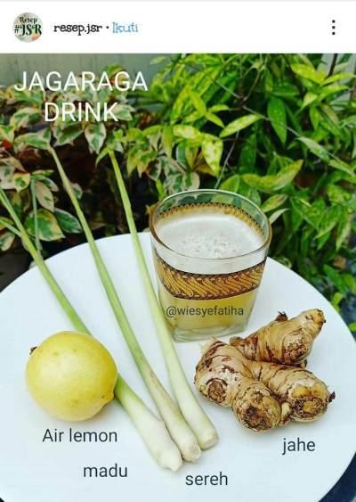 Resep Minuman Jagaraga Ala dr. Zaidul Akhbar
