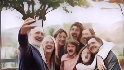 Tragis! Keluarga Di Lampung Ini Tewas Ditabrak Truk Saat Selfie