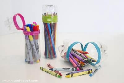 Jadi Lebih Rapi, Ini 4 Ide Membuat Tempat Pensil Dari Botol Bekas